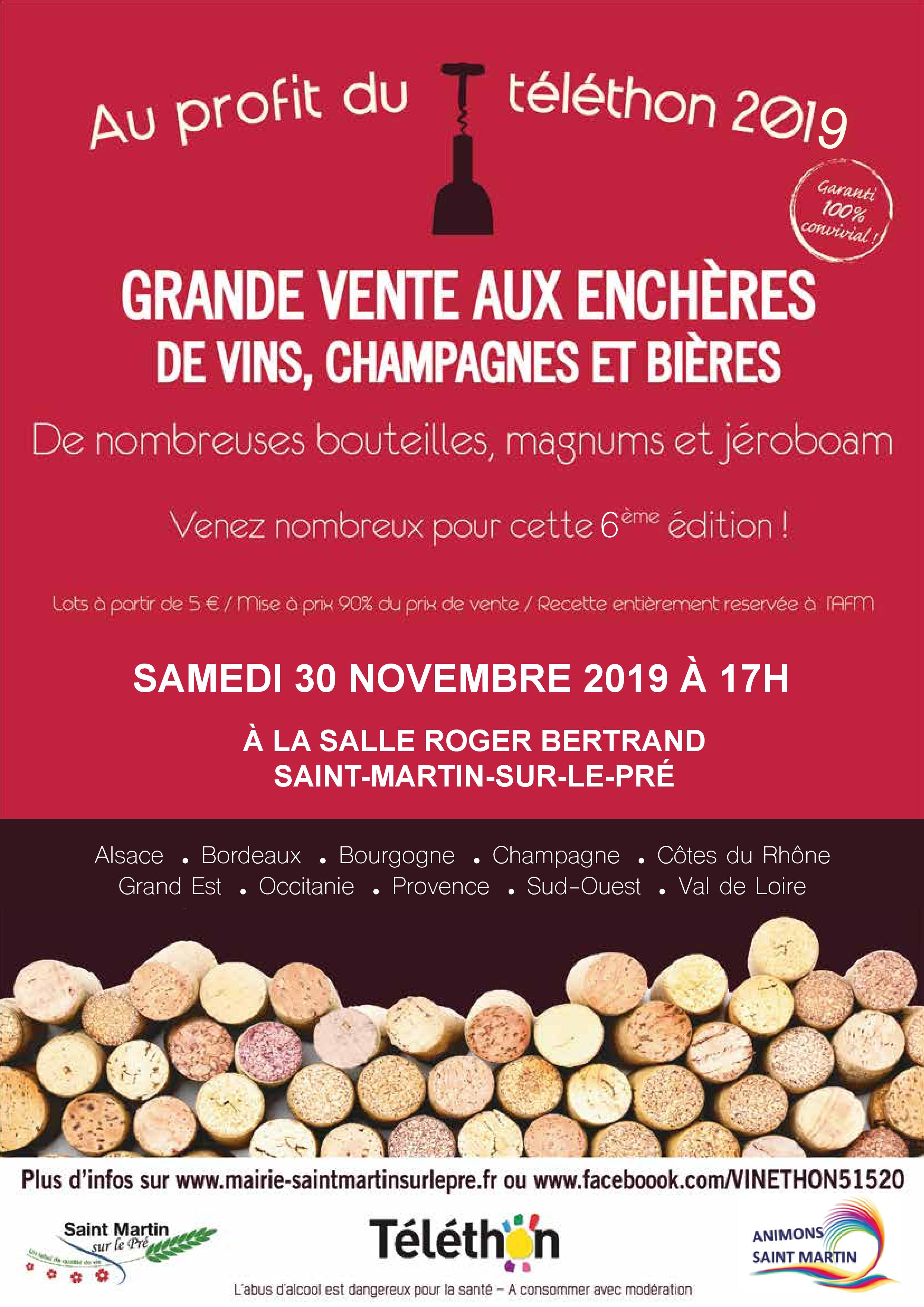 VENTE ENCHERES VIN 30.11.19
